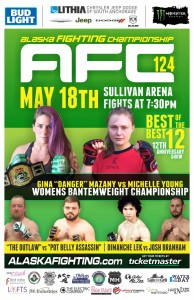 AFC 124 - Mazany vs Young Poster 11x17 WEB
