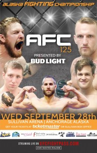 AFC 125 - Poster 11x17 WEB