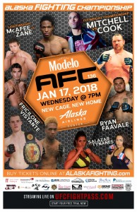 AFC 136 - Mitchell vs Cook 11x17 WEB