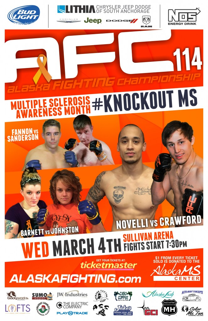 AFC-114-Knockout-MS-Poster-11x17-PRINT